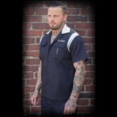 ISOT KOOT - KAULUSPAITA - Bowling Shirt The Man in Black