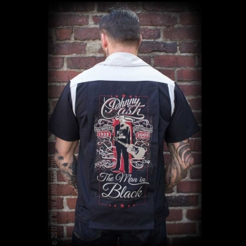 KAULUSPAITA - Bowling Shirt The Man in Black