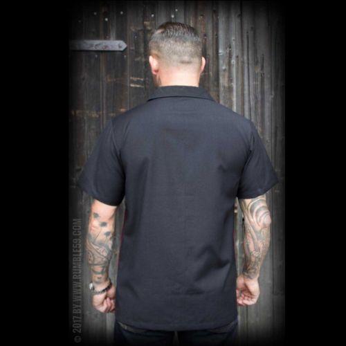 KAULUSPAITA - Classic Shirt Rock'n'Roll Desert - bordeaux