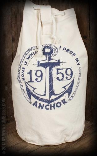 Canvas Kitbag - Drop my anchor