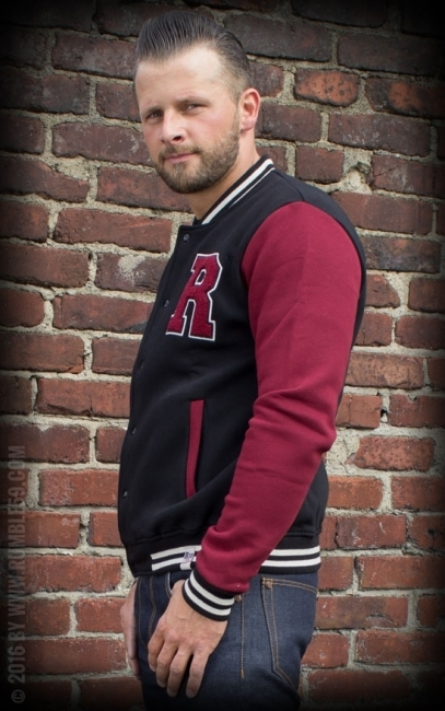 ISOT KOOT RUMBLE59 Male Sweat College Jacket Stuntman.fi