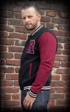 RUMBLE59 - Male Sweat College Jacket