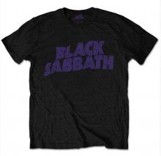 T-PAITA - BLACK SABBATH - WAVY LOGO
