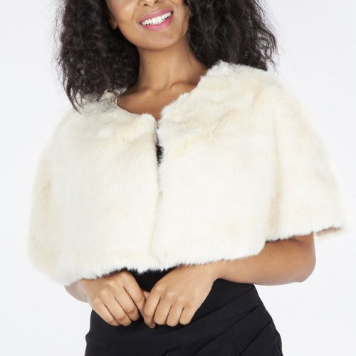 STOOLA - Cream Faux Fur