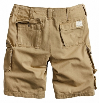 SHORTSIT - TROOPER SHORTS BEIGE WASHED - SURPLUS