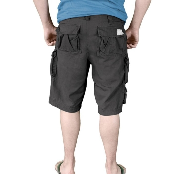 SHORTSIT - TROOPER SHORTS MUSTA - SURPLUS