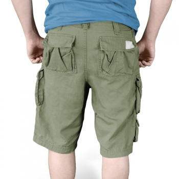 SHORTSIT - TROOPER SHORTS OLIVE WASHED - SURPLUS