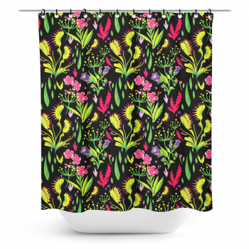 Suihkuverho, Deadly Beauties Shower Curtain