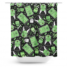 Suihkuverho, The Monsters Shower Curtain