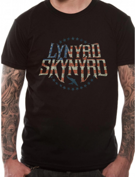 T-PAITA - LYNYRD SKYNYRD - STARS AND STRIPES (LF8488)