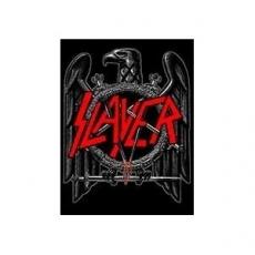 KANGASMERKKI - SLAYER - BLACK LOGO (50017)