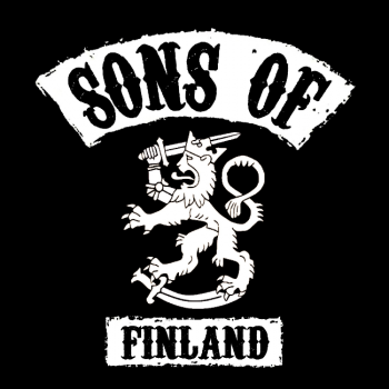 COLLEGE -SONS OF FINLAND musta