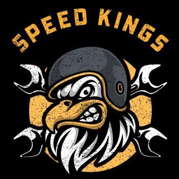 HUPPARI musta - SPEED KINGS - SPEED KINGS