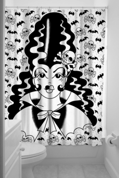 SUIHKUVERHO - FRANKENGAL SHOWER CURTAIN - SOURPUSS (40154)