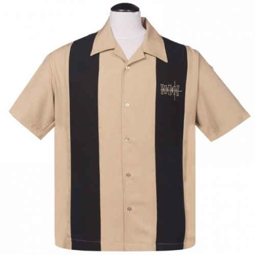 ISOT KOOT - KAULUSPAITA - Simple Times Button Up in Tan - STEADY CLOTHING
