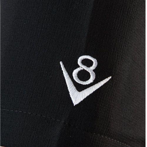 KAULUSPAITA - V8 Checkered Mini Panel in Black/White - STEADY CLOTHING