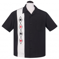 KAULUSPAITA - All-In Button Up in Black - STEADY CLOTHING