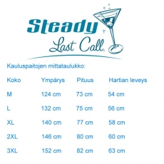 KAULUSPAITA - SINGLE PIN UP PANEL - STEADY CLOTHING (89008)