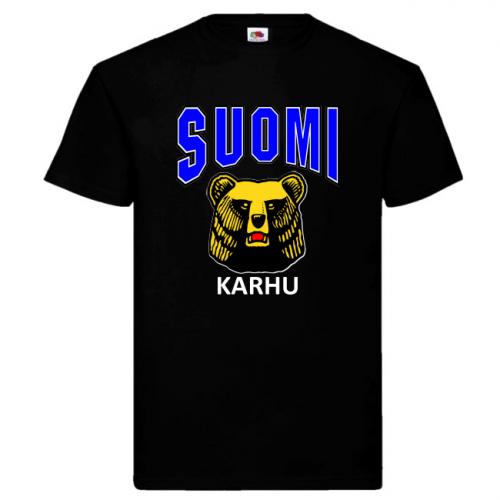 T-PAITA - SUOMI - KARHU