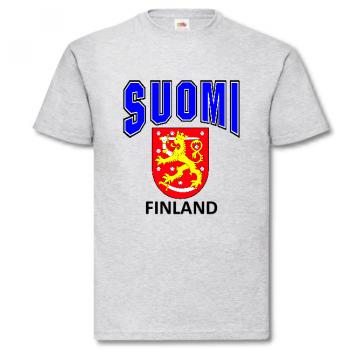 T-PAITA - SUOMI - LEIJONA - FINLAND