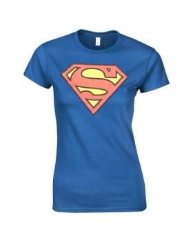T-PAITA - SUPERMAN LOGO 3D GIRLIE (LF8134)