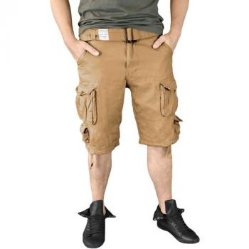SHORTSIT - DIVISION SHORTS BEIGE WASHED - SURPLUS