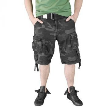SHORTSIT - DIVISION SHORTS BLACKCAMO - SURPLUS