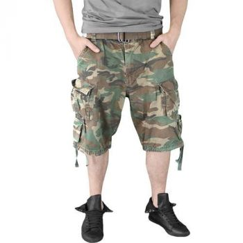 SHORTSIT - DIVISION SHORTS WOODLAND WASHED - SURPLUS
