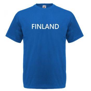 T-PAITA  FINLAND SININEN