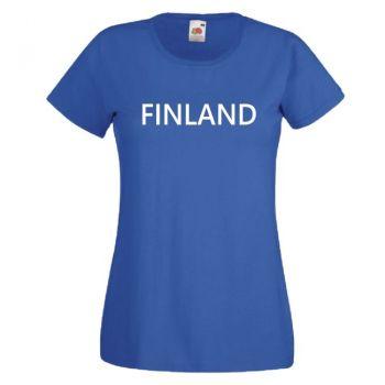 NAISTEN T-PAITA  FINLAND