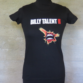 NAISTEN T-PAITA - BILLY TALENT II (LF1027Y)