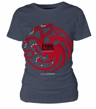 T-PAITA - GAME OF THRONES - TARGARYEN (LADIES) (LF8092)