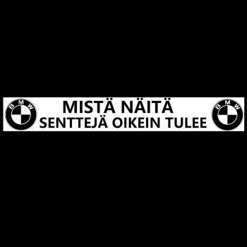 AUTOTARRA - MISTÄ NÄITÄ SENTTEJÄ