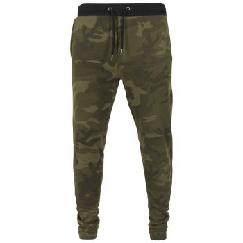 COLLEGEHOUSUT - Camo Sweat Pants OLIVE CAMO