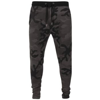 COLLEGEHOUSUT - Camo Sweat Pants DARK CAMO
