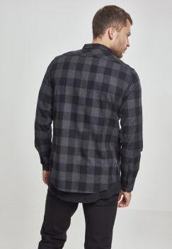 FLANELLI KAULUSPAITA SUURET KOOT- Checked Flanell Shirt CHA - URBAN CLASSICS