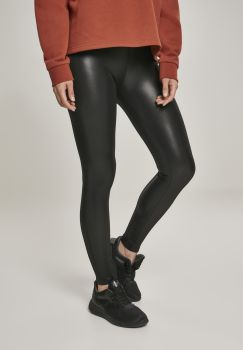 LEGGINSIT - Ladies Faux Leather Leggings - URBAN CLASSICS