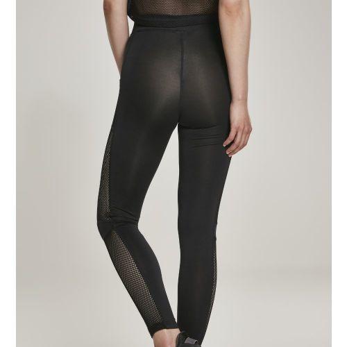 LEGGINSIT - Mesh Side Stripe Leggings - URBAN CLASSICS