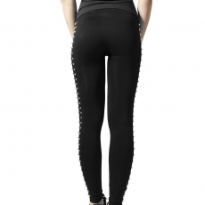 Side Rivets Leggings - URBAN CLASSICS