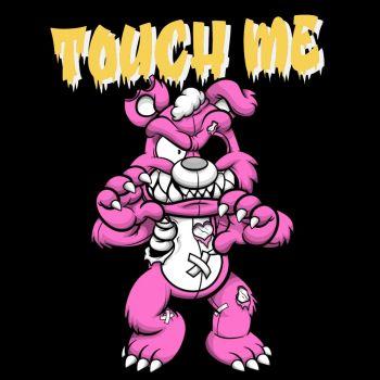 T-PAITA musta - TOUCH ME