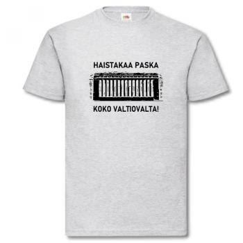 T-PAITA - HAISTAKAA PASKA KOKO VALTIOVALTA!
