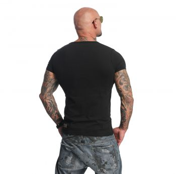 YAKUZA - Basic Line V Neck T-Shirt - T-PAITA
