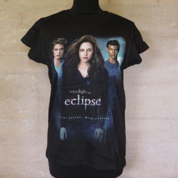 NAISTEN T-PAITA - TWILIGHT - ECLIPSE MOVIE (LF1013Y)
