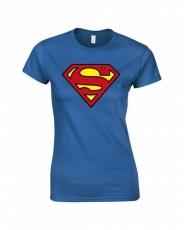 T-PAITA - SUPERMAN LOGO (LADIES) (LF8081)