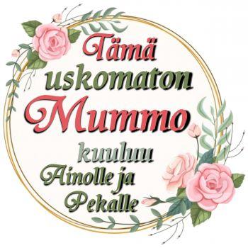 YÖPAITA MUSTA - USKOMATON mummo