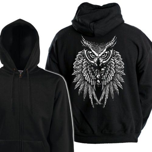 VETOKETJUHUPPARI - OWL SKULL WINGS (932)