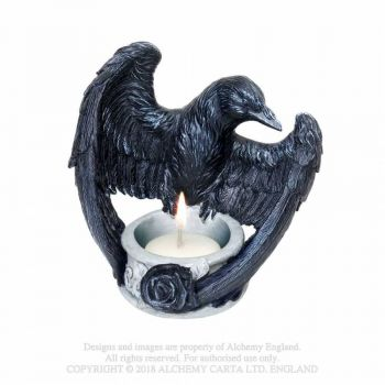 TUIKKUTELINE - RAVEN'S WARD T-LIGHT HOLDER - ALCHEMY