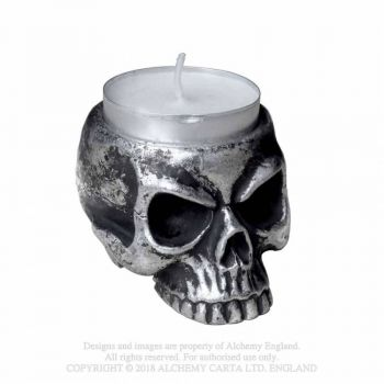 TUIKKUASTIA - Skull - Tea Light Holder - ALCHEMY