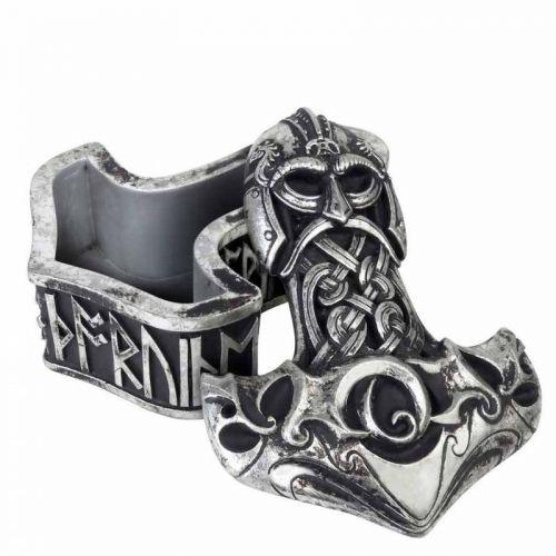 RASIA - Thor's Hammer Trinket Box - ALCHEMY