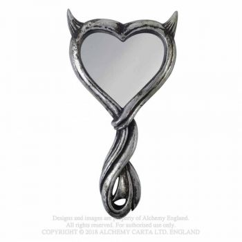 Devil's Heart Hand Mirror - ALCHEMY